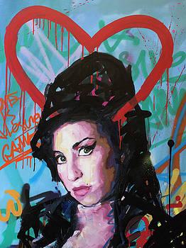 Amy Winehouse by Richard Day