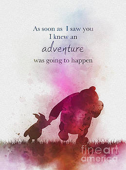 An adventure is going to happen by My Inspiration