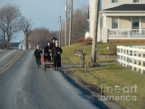Christine Clark - An Amish Family on Second Christmas