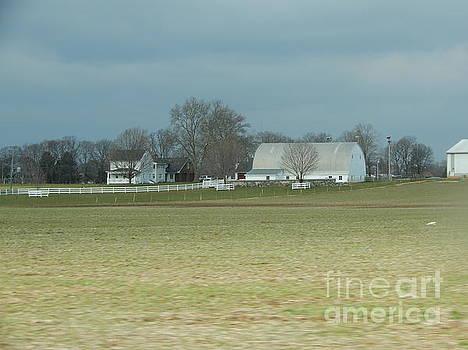 Christine Clark - An Amish Homestead in December