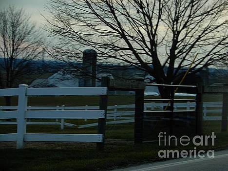 Christine Clark - An Amish Homestead on a December Night