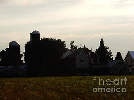 Christine Clark - An Amish Summer Sunset