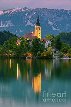 An evening at Lake Bled, Slovenia by Henk Meijer Photography