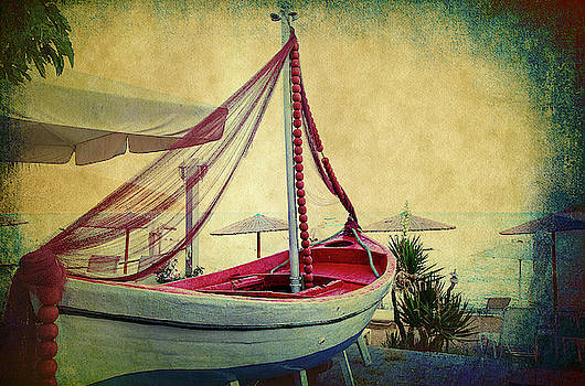 an Old Boat by Milena Ilieva