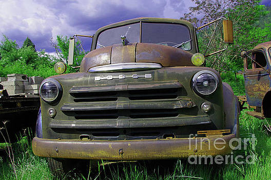 An old dodge truck by Jeff Swan