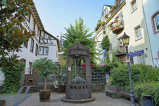 An Old Well In Koblenz Germany by Richard Rosenshein