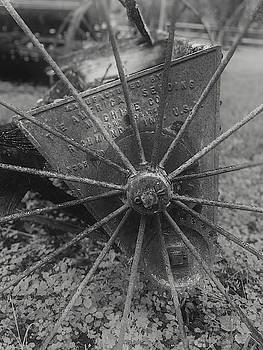 An Old Wheel by Jeff Oates Photography
