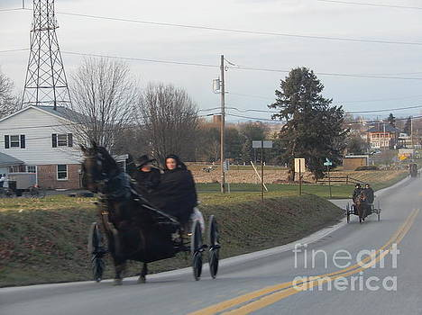Christine Clark - An Open Buggy Ride in December