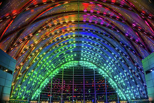 Anaheim Regional Transportation Intermodal Center by Art Spectrum