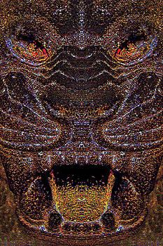 Ancient art. L I O N - S T O N E . by Andy Za