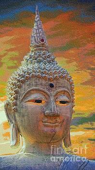 Ancient Buddha Sculpture by Ian Gledhill