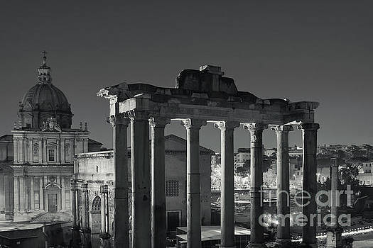 Ancient Rome by Night by Stefano Senise