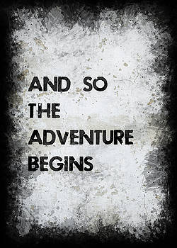 And So The Adventure Begins by Ricky Barnard