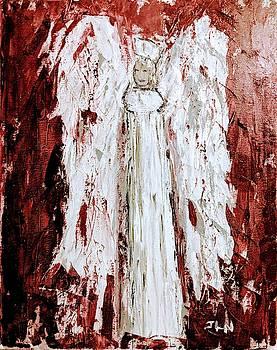 Angel against violence by Jennifer Nease
