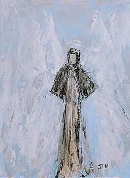 Angel of moderation by Jennifer Nease