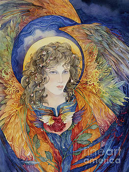 Angel of the Heart Chakra by Helena Nelson - Reed