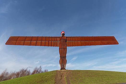 Angel of the North 1 by Steev Stamford