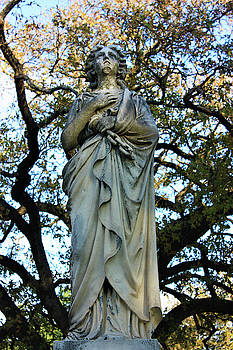 Angelic Statue in Dallas, Texas by Deborah Kinisky