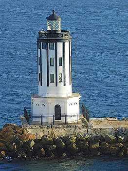 Angels Gate Lighthouse by Emmy Marie Vickers