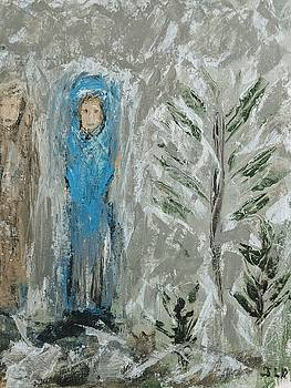 Angels on a cold night by Jennifer Nease