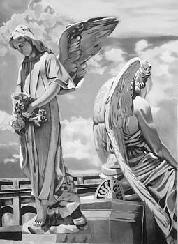 Angels by Rhondda Saunders