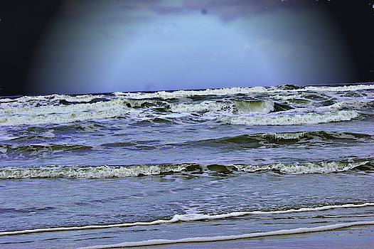 Angry Ocean by Yvonne Sewell