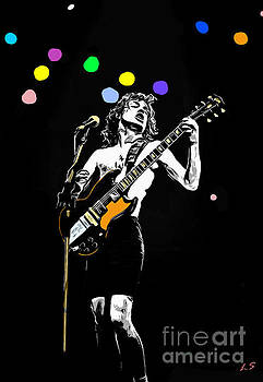 Angus Young collection - 1 by Sergey Lukashin