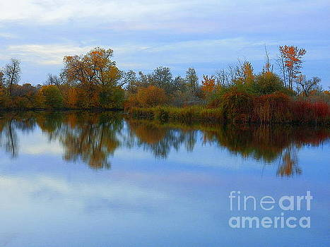 Another Autumn Day by Art Sandi