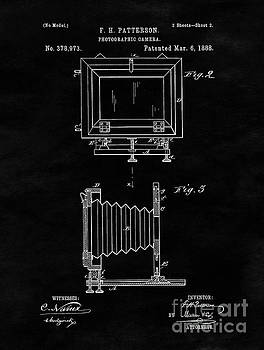 Tina Lavoie - Antique Camera Blueprint Drawing Sheet Two