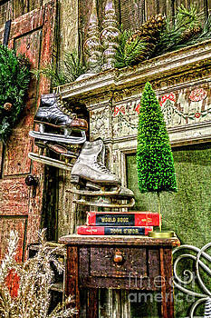 Sandy Moulder - Antique Fireplace Decor