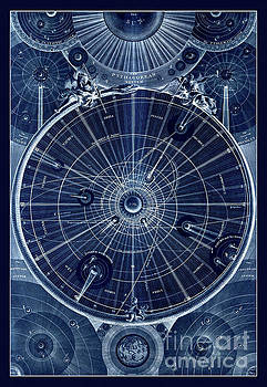 Tina Lavoie - Antique map of the Solar System