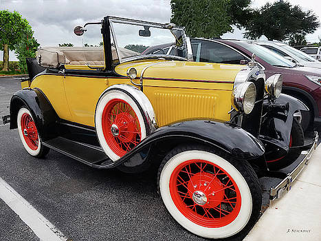 Antique Model T Convertible by Jennifer Stackpole