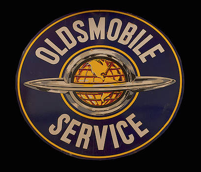 Antique Oldsmobile Service sign by Chris Flees