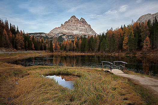 Antorno Lake  by Jon Glaser