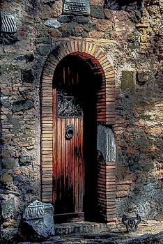 Appia Antica Porta by Joseph Yarbrough