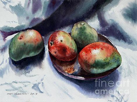 Apple Mangoes by Joey Agbayani