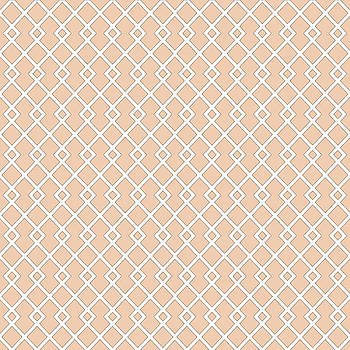 Apricot Diamond Pattern by Ross