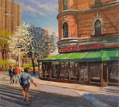 April Morning on Broadway by Peter Salwen
