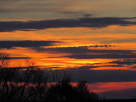 April Sunset by Mandy Byrd