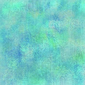 Aqua Batik Print Coordinate by Sand And Chi