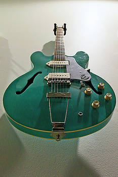 Aqua Epiphone by Shoal Hollingsworth