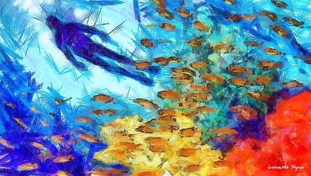 Aquaman Colorful - PA by Leonardo Digenio