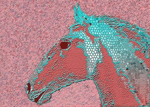 Arabian horse by Mimo Krouzian