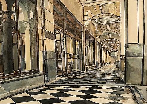 Arcade by Norman Burnham