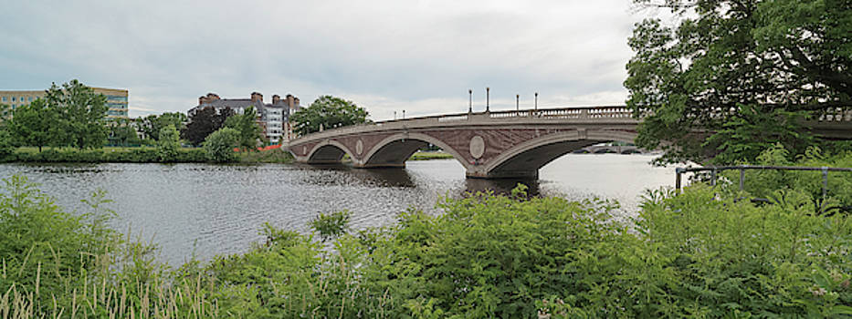 Arch Bridge Over River, Cambridge by Panoramic Images
