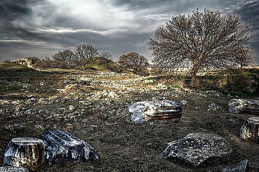Archeological Site by Maria Coulson