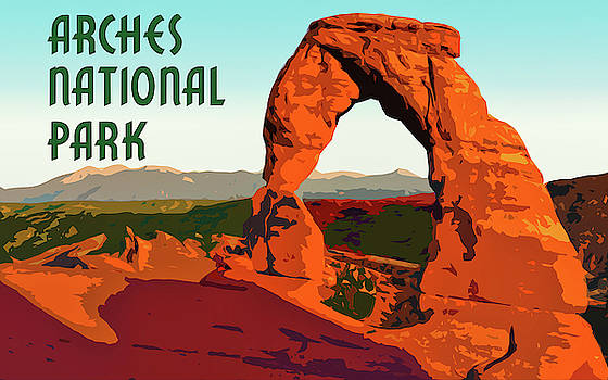Arches National Park by Chuck Mountain