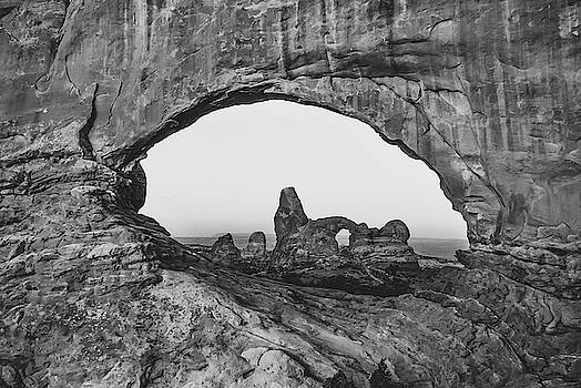 Arches National Park Monochrome Landscape by Gregory Ballos