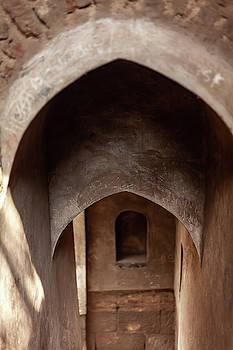 Arches of Shaniwar Wada by Fran Riley