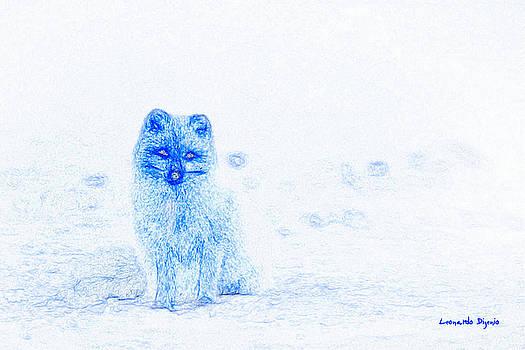 Arctic Fox - PA by Leonardo Digenio